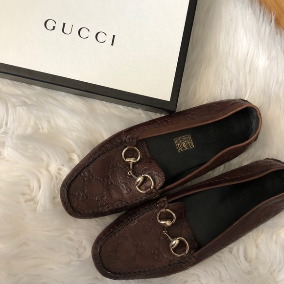 8d09fdd9d6d Guccissima GG Leather Horsebit Loafers